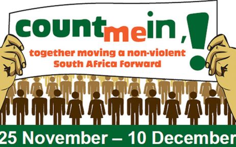 Get Involved During The 16 Days of Activism