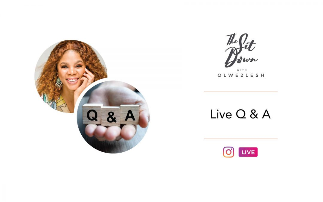 TheSitDown Live Q&A