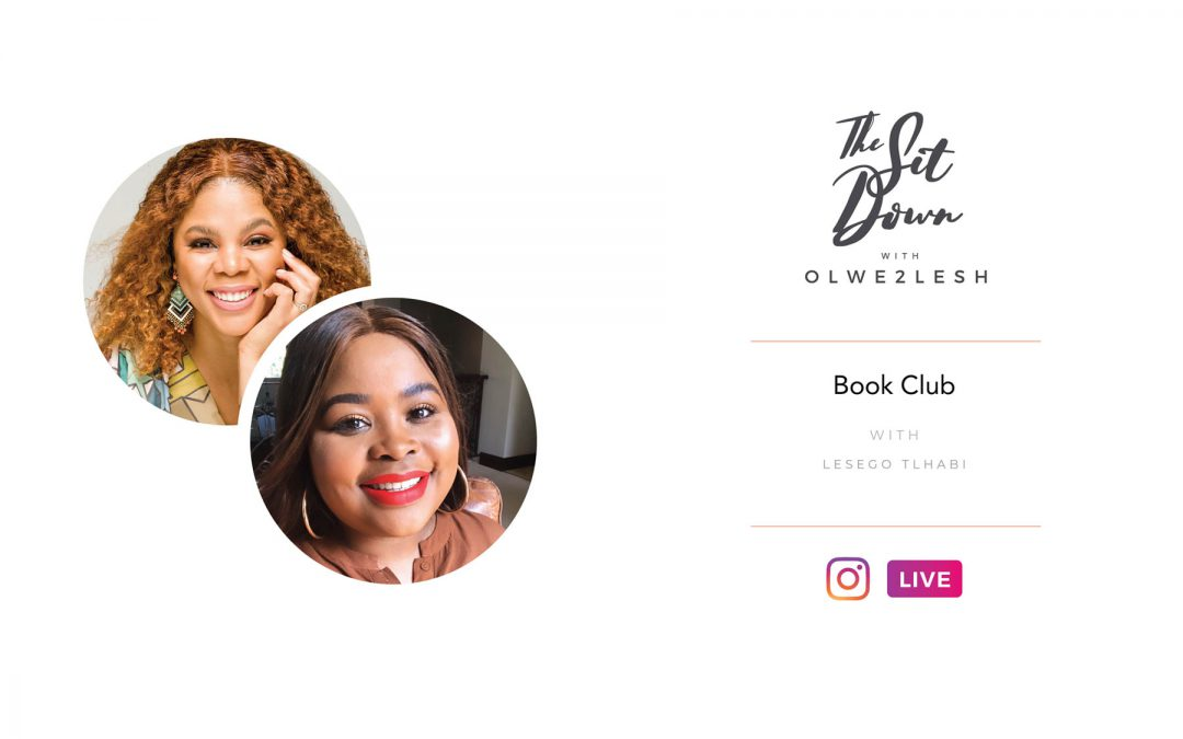 TheSitDownBookClub with Lesego Tlhabi
