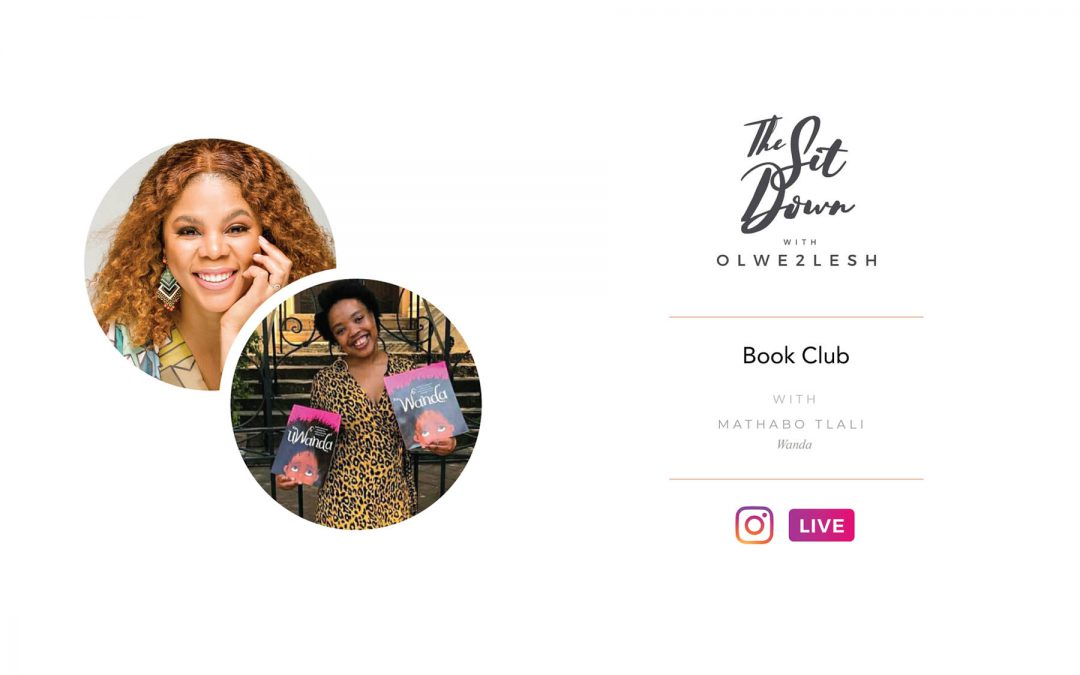TheSitDownBookClub with Mathabo Tlali