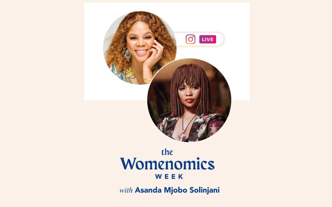 TheSitDownWomenomics Week with Ayanda Mjobo Solinjani